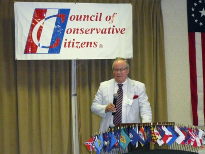 Noted white nationalist and anti-Semitic conspiracy theorist, Paul Fromm, is in the leadership of the Council of Conservative Citizens.